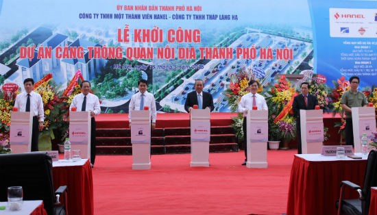 Work starts on Hanoi's largest inland clearance depot hinh anh 1