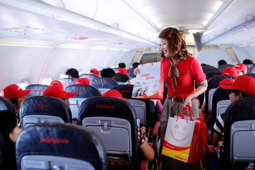 Vietjet continues its zero-fare promotion on international routes hinh anh 1