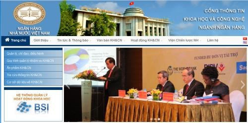 Central bank launches science-technology portal hinh anh 1