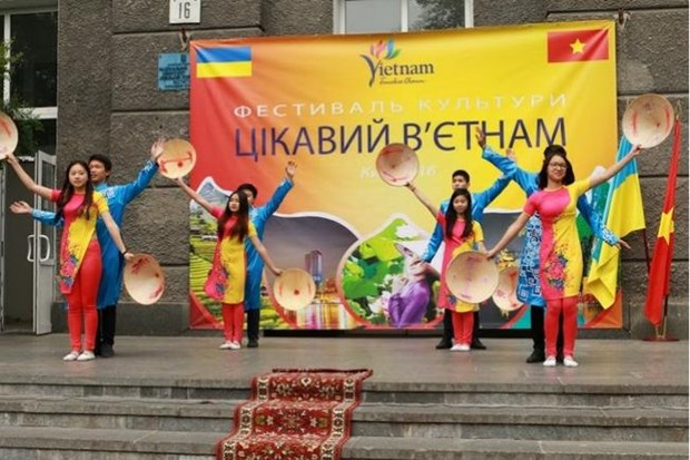 Vietnamese culture on show in Kiev hinh anh 1