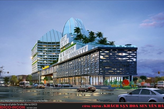 Work starts on Yen Bai's largest shopping mall hinh anh 1