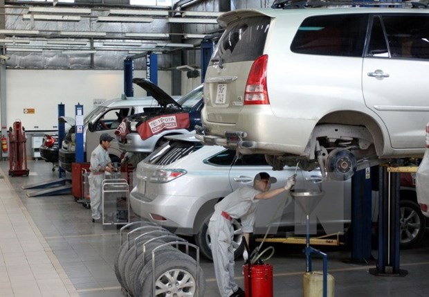 Vietnam keen on Japanese investment in auto manufacturing hinh anh 1