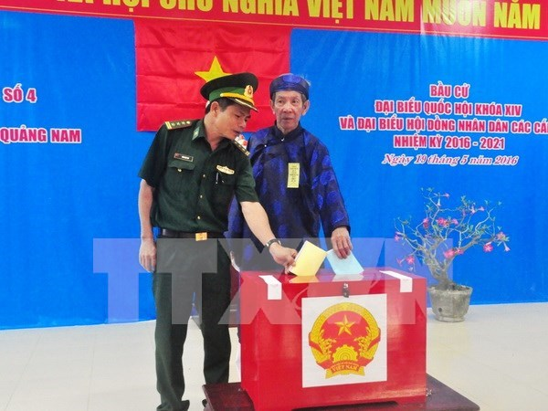 Early NA voting in Quang Nam's remote, border areas hinh anh 1
