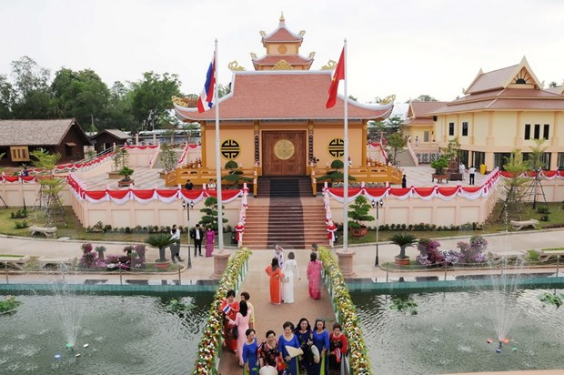 Largest Ho Chi Minh memorial site overseas inaugurated in Thailand hinh anh 1