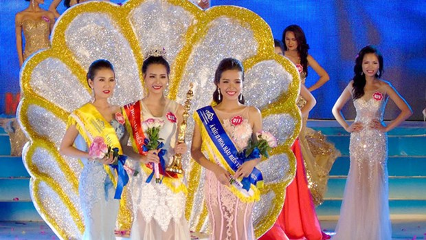 Hoa Binh province's girl named Miss Sea Vietnam 2016 hinh anh 1