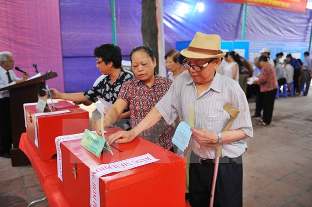 National Assembly election begins nationwide hinh anh 1