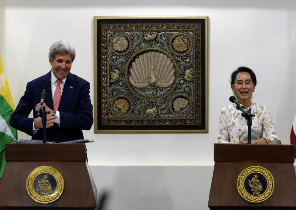 US Secretary of State visits Myanmar hinh anh 1