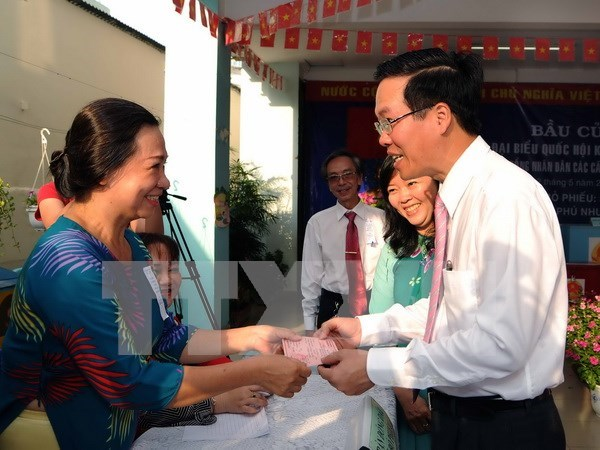 International press highlight Vietnam's general election hinh anh 1