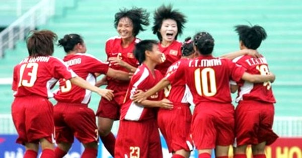 Vietnam in Asian Women's Football Champs 2017 hinh anh 1