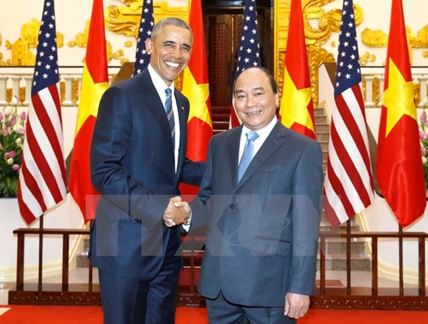 US wants to set up long-term relations with Vietnam: US President hinh anh 1