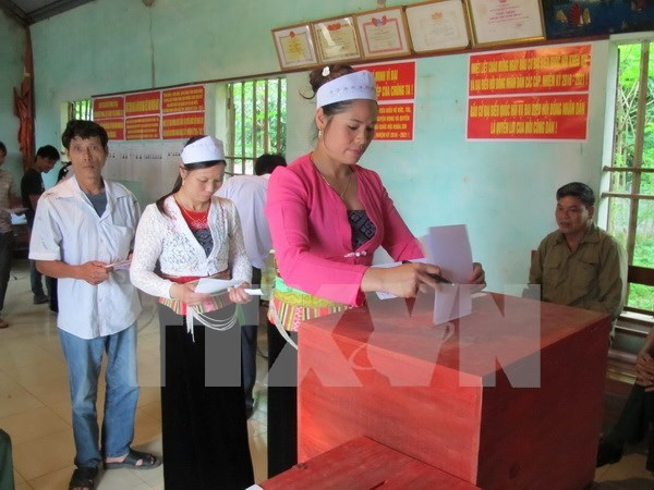 More than 65.5 million voters go to polls, says NEC hinh anh 1