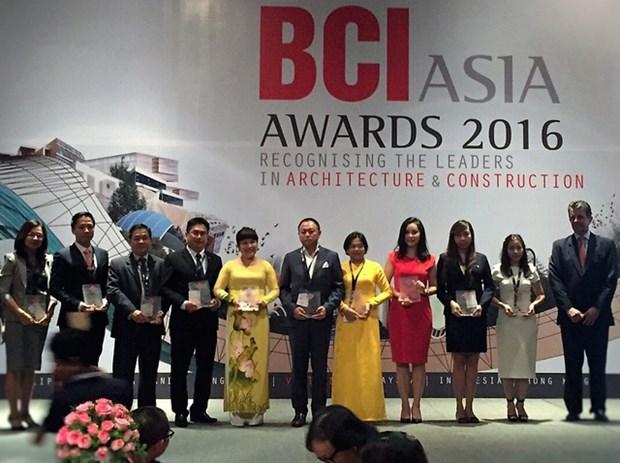 Vietnamese property firms get BCI awards hinh anh 1
