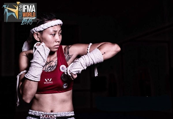Bui Yen Ly enters semis of Muaythai tournament hinh anh 1