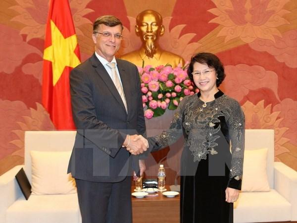 NA Chairwoman meets Australian Ambassador hinh anh 1