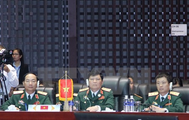 Laos hosts 10th ASEAN Defence Ministers' Meeting hinh anh 1