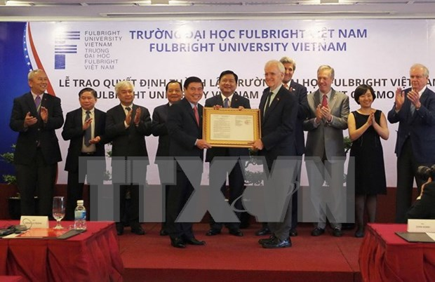 Fulbright University Vietnam to open in late 2016 hinh anh 1