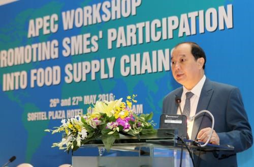 APEC workshop promotes SMEs participation in global food supply chains hinh anh 1