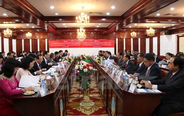 Ho Chi Minh City bolsters cooperation with Vientiane hinh anh 1
