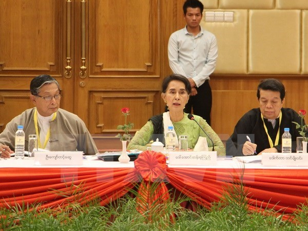 Myanmar sets up committees to promote peace process hinh anh 1