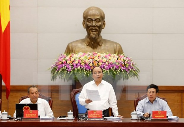Cabinet meeting prioritises institution-related issues hinh anh 1