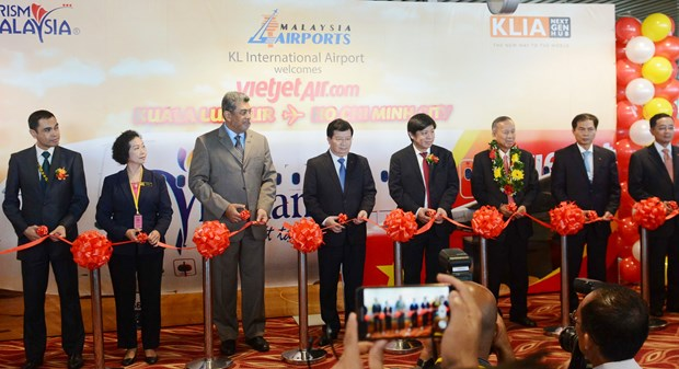 VietJet Air opens route from HCM City to Kuala Lumpur hinh anh 1