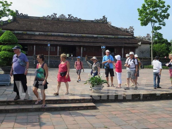 Over 1 mln tourists visit Hue Monuments Complex in 5 months hinh anh 1