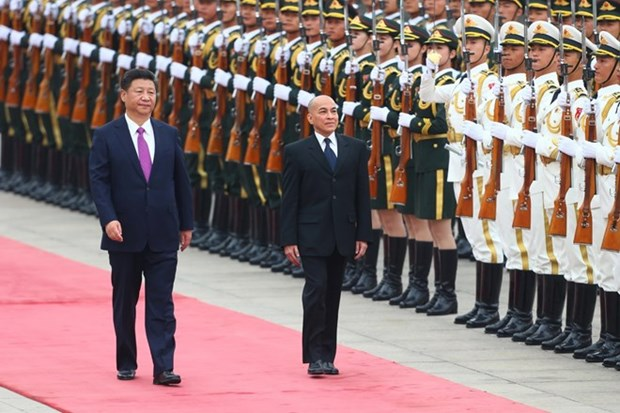 China, Cambodia consolidate time-honoured friendship hinh anh 1