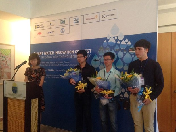 Anti-water leak detection app triumphs at national contest hinh anh 1