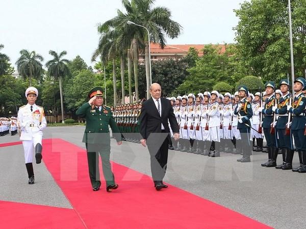 Vietnam, France eye strategic defence dialogue mechanism hinh anh 1