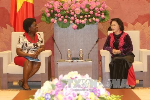 NA chairwoman welcomes WB leader hinh anh 1