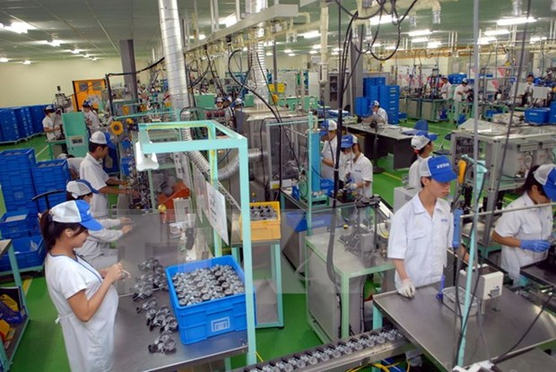 Hanoi economy shows rosy signs in first five months hinh anh 1