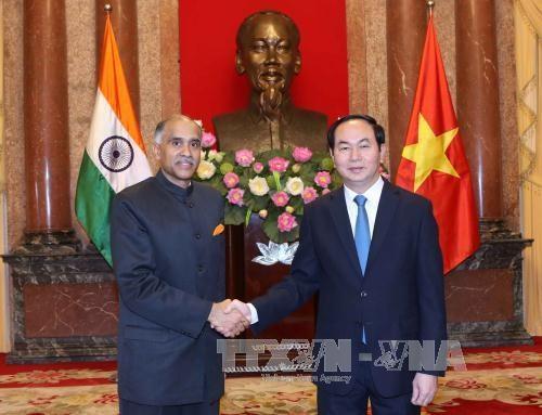 President greets incoming ambassadors hinh anh 1