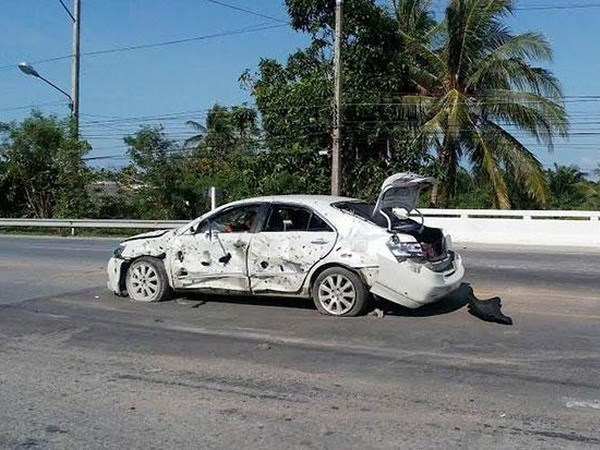 Thailand: motorcycle bomb injures seven hinh anh 1