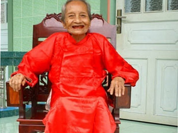 Kind thoughts key for 123-year-old hinh anh 1