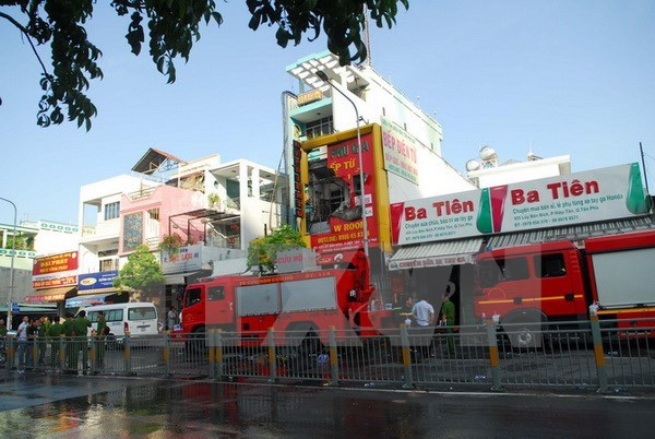 Fire kills four in Ho Chi Minh City hinh anh 1