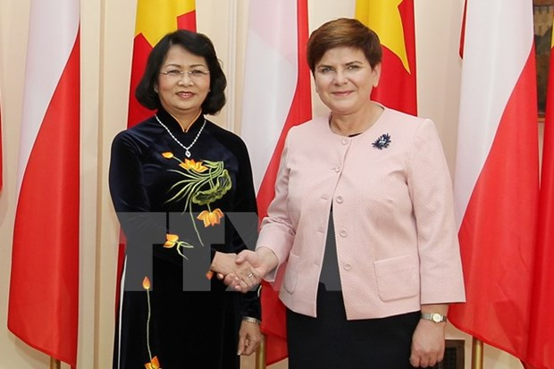 Vietnam treasures relations with Poland, says Vice President hinh anh 1