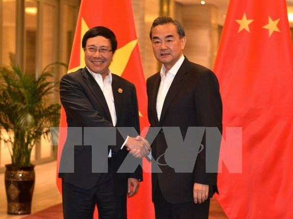 Deputy PM Pham Binh Minh meets Chinese Foreign Minister hinh anh 1