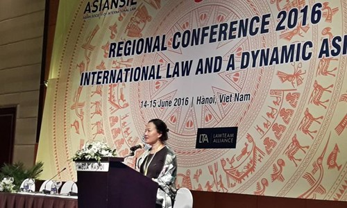 Regional conference highlights international law hinh anh 1