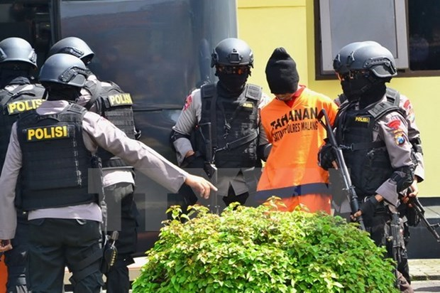 Indonesia arrests four IS-linked suspects hinh anh 1