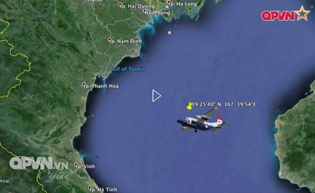 Rescue aircraft loses contact during search for missing military plane hinh anh 1