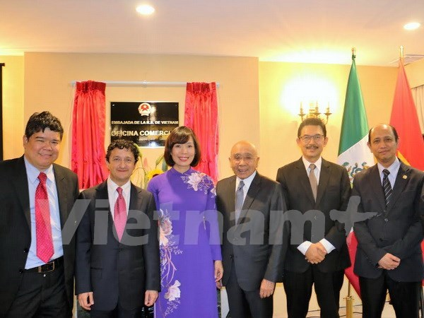 VN embassy's trade office in Mexico has new headquarters hinh anh 1