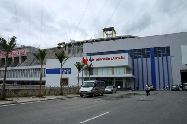 Lai Chau hydropower plant's second turbine operational hinh anh 1