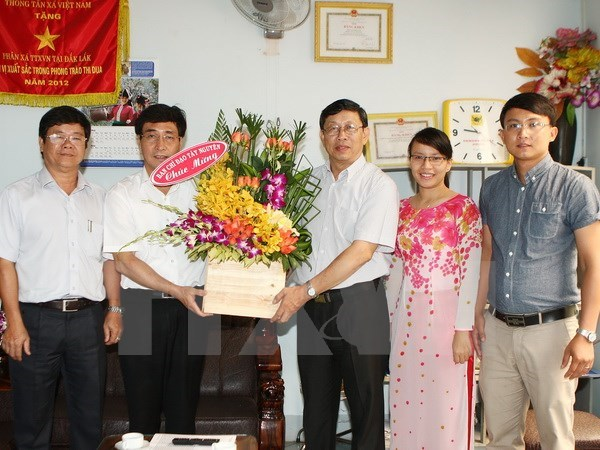 Journalists urged to build HCM City's strong authorities hinh anh 1