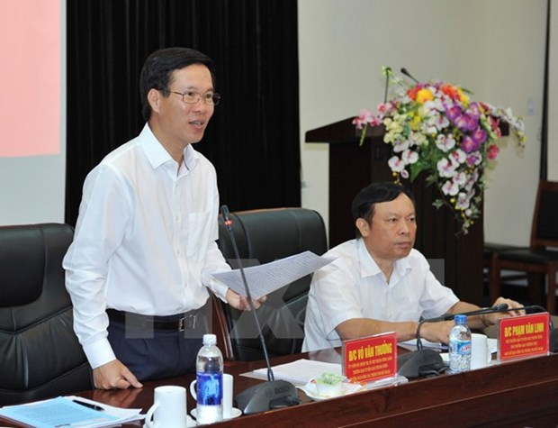 Party official urges efforts to boost external information hinh anh 1