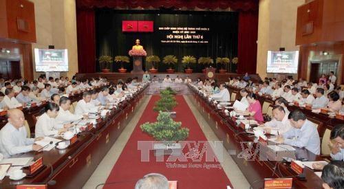 HCM City targets 8 percent GRDP growth hinh anh 1