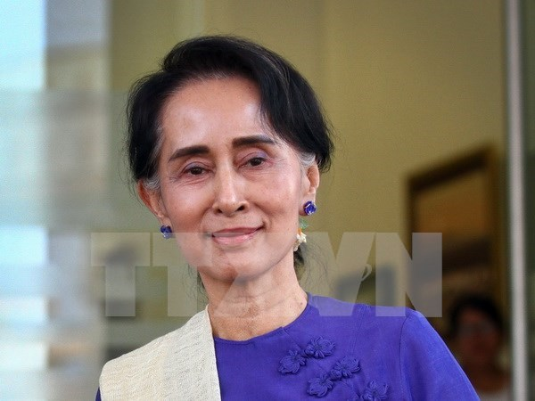 Myanmar's state counselor visits Thailand hinh anh 1