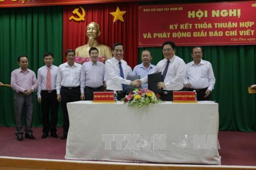 VJA, southwestern region's steering committee sign cooperation deal hinh anh 1