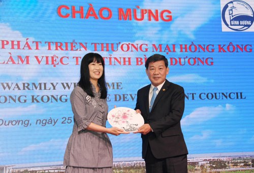 Hong Kong businesses look to invest in Binh Duong hinh anh 1