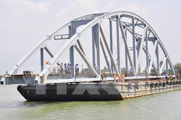 New Ghenh Bridge opens to traffic hinh anh 1