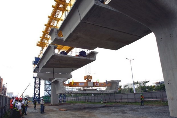 HCM City pledges to accelerate Metro Line No.2 hinh anh 1